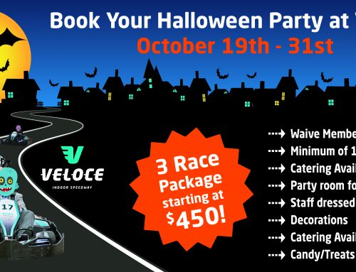 BOOK YOUR HALLOWEEN PARTY AT VELOCE